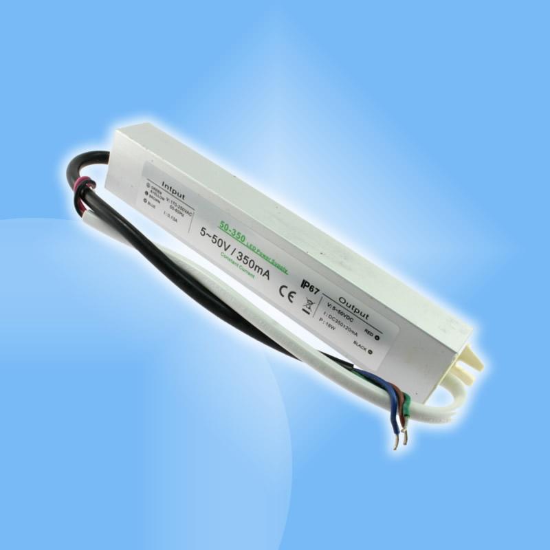 18W napájací zdroj so stálym elektrickým jednosmerným prúdom 350mA