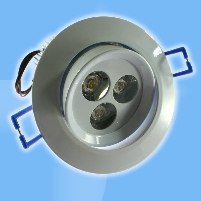 LED svietidlo bodové náhrada 45W halogénky, biele