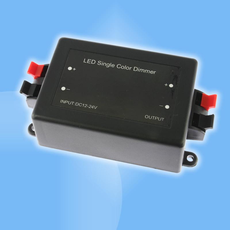 Rádiový ďiaľkový stmievač pre LED pásy