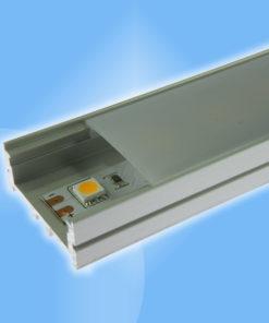 Hliníkový profil široký 30x12mm dĺžka 2m