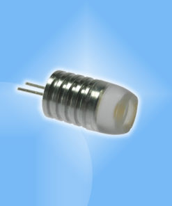 G4 1W mini hliníková LED žiarovka