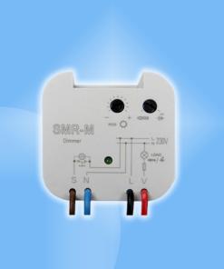Stmievač LED žiaroviek pre montáž do inštalačnej krabice