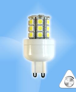 Stmievateľná G9 24 SMD LED náhrada 30-35W halogénu
