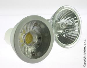 porovnanie klasiky COB LED GU10