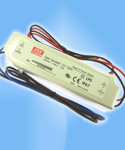 20W napäťový zdroj vhodný pre LED pásy s 12V alebo 24V DC napájaním