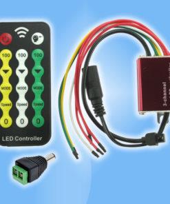Ďiaľkový ovládač - stlmovač pre LED pásy Teplej a Dennej bielej