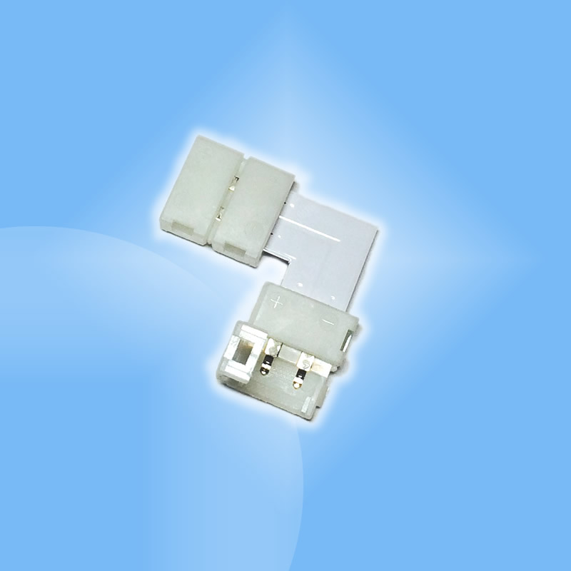 Profi RGB, 10mm, 8mm rohová spojka pre LED pásy