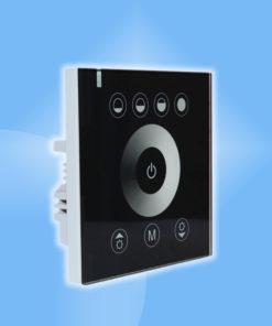 Jednofarebný dotykový stenový ovládač