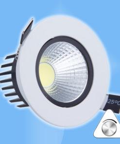 6W LED bodová náhrada 30W halogénky