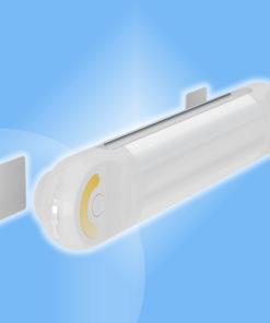Núdzové LED svietidlo dobíjateľné a stmievateľné