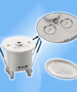 InfraRed pohybový senzor s časovačom vsadený 12V alebo 230V