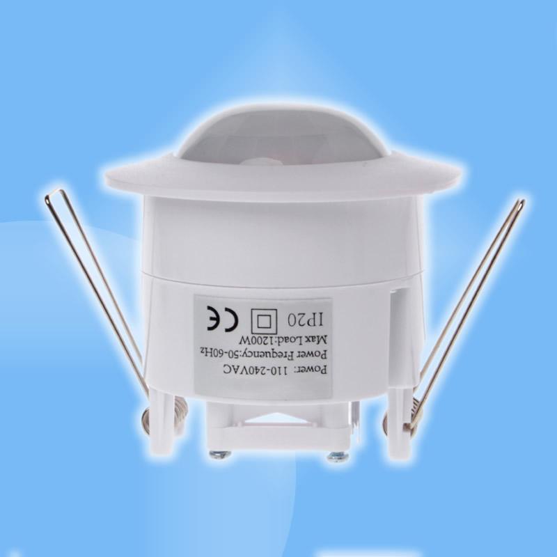 InfraRed senzor s časovačom vsadený 230V 1200W