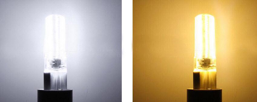 farba svetla porovnanie
