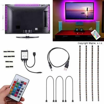 USB TV LED pasik RGB aplikacia