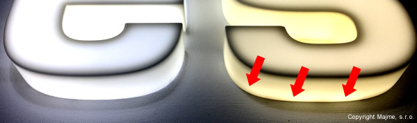porovnanie a stop svetla