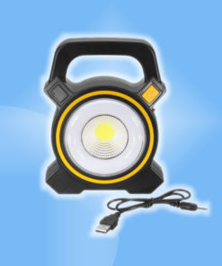 Solárny prenosný 1.5W LED reflektor