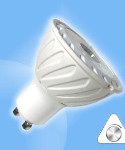 GU10 biela COB bodová stmievateľná v uhle 45°