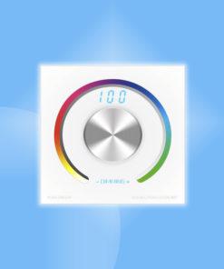 Otočný RGB stenový ovládač