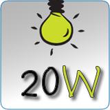 LED náhrady za 20W klasické žiarovky