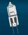 G4 alebo MR11 pätice vhodné pre LED žiarovky